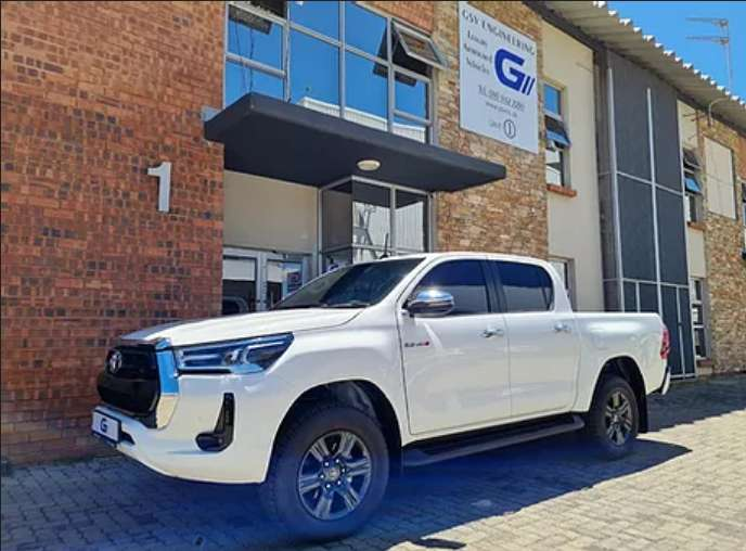 Bullet Proof 2021 Toyota Hilux GD6 0