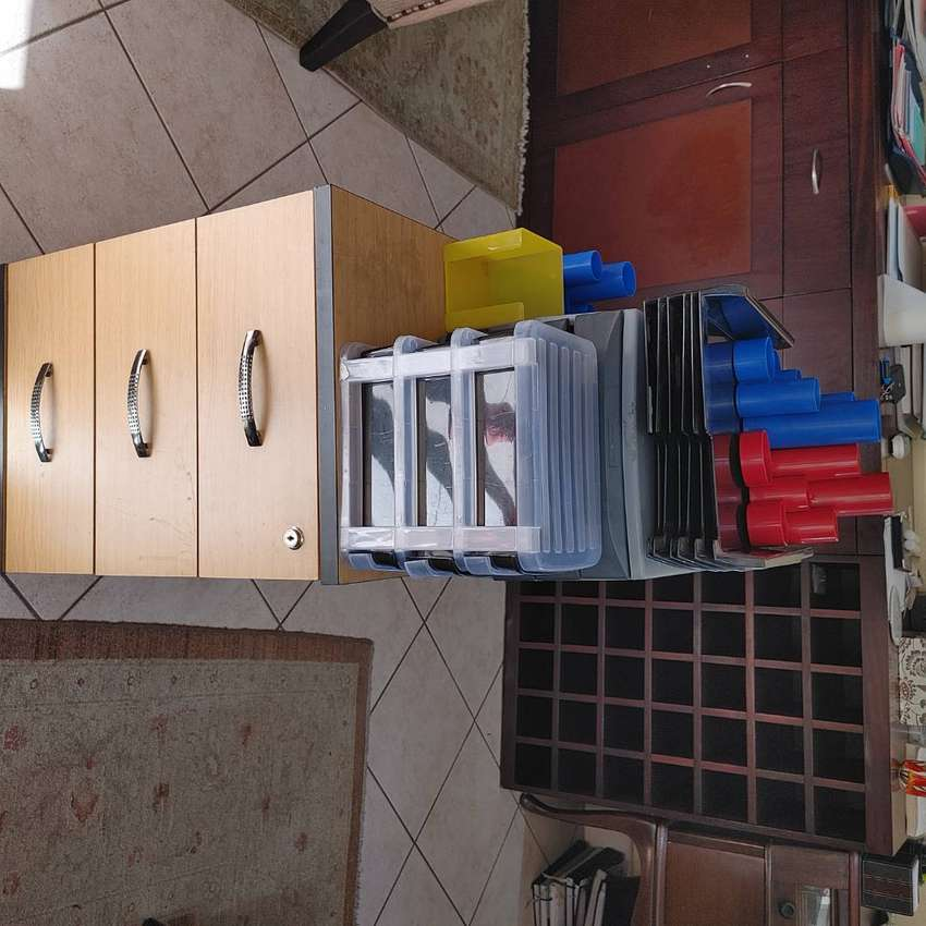Files. incl hanging, side table and stationary units plus more
