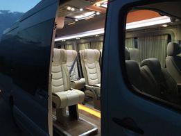 Аренда заказ автобуса микроавтобуса спринтер заказать трансфер Киев
