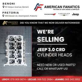 We're Selling Jeep 3.0 CRD Cylinder Heads, WhatsApp us today!