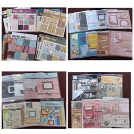 Scrapbook making collection