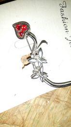 Broszka stan nierdzewna biżuteria zapinka spinka