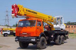 Аренда,Услуги Автокрана от 10до25 тонн,стрела 21метр,Кран-манипулятор.