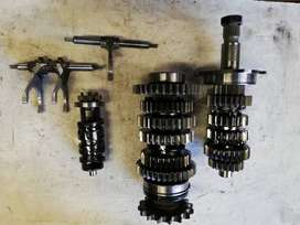 YAMAHA R1 complete gearbox with selectors