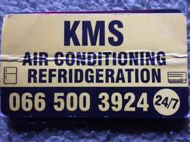 KMS AIR CON AND DOMESTIC FRIDGE SERVICES