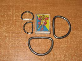 Полу-кольцо D-типа из нержавейки для ошейников и др. дайвинг подводое