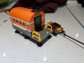 Lego artic Field lab and sleigh