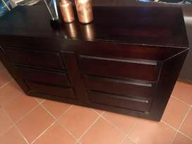 Candy 6 drawers chest. Wood