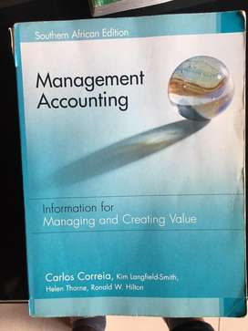 Management Accoutinf Textbook