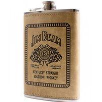 Фляга обтянута кожей (256мл) Jim Beam ВР-9-2