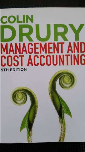 Management Accounting 278 Textbook (9th ed.) incl. Student Manual