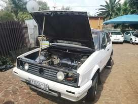 Volkswagen 2007 golf 1 project.