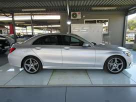 2016 MERCEDES-BENZ C-CLASS C180 AMG-LINE A/T ONLY 76079KM FSH