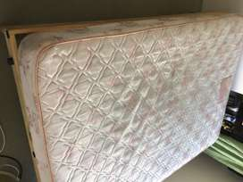 Mattress and Base, Size: Double Bed