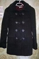 пальто черное на девочку
