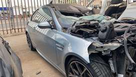 BMW M3 E92 S65 DCT Now in for stripping