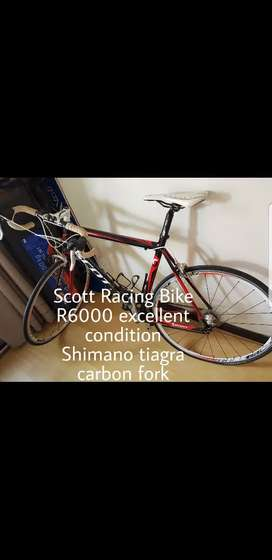 Scott Racing bike
