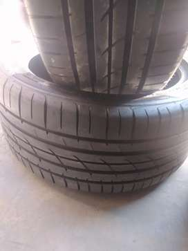 Two tyres sizes 355/25/21 pirelli normal now available