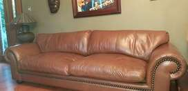 Coricraft Afrique Leather 4 seater couch
