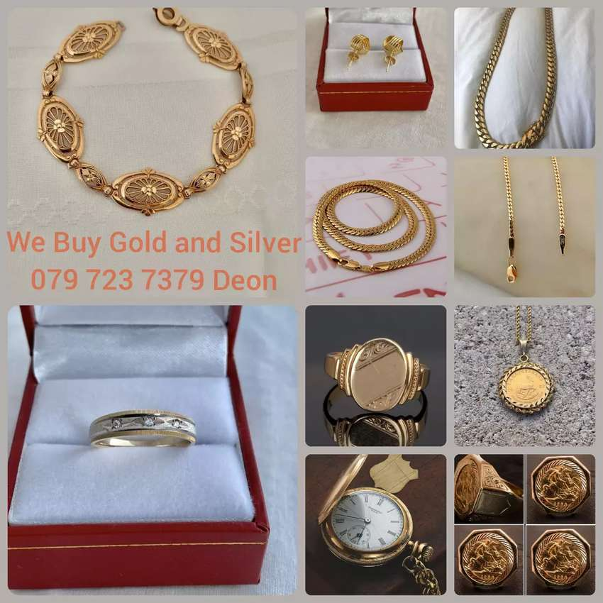 Selling your Gold and Silver Jewelry give us a call!!!