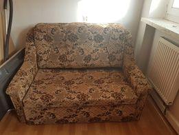 Rozkładana sofa i 2 fotele w pięknym stanie