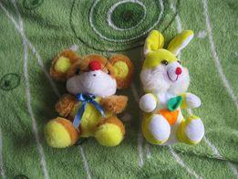 зайцы и мышка