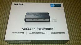 Маршрутизатор ADSL DSL-2540U + 4 port switch