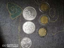 Old Valuable coins and notes