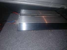 Star sound amp and 12inch sub