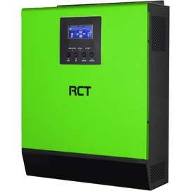 RCT 3KW inverter with batteries
