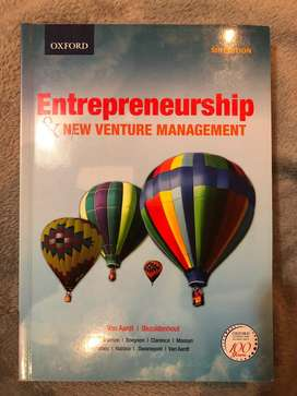 Entrepreneurship & new venture management