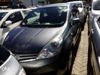 Nissan note grey color Fully loaded unit new plate number fresh import 0