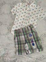 Сорочка і шорти, на вік 4-5 років