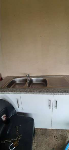Kitchen sink and mixer