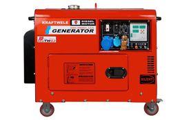 SDG9800S 1F 9.8кВт / 1фаз Дизельний генератор KRAFTWELE GERMANY