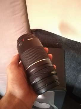 75 300mm Canon lens