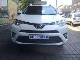 Toyota Rav 4 with spare key' Automaic 2.0/ A motor plan leather bee