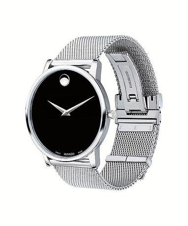 Часы Movado Mesh Museum Black Dial Stainless Steel модель 0607219 Харьков - изображение 6