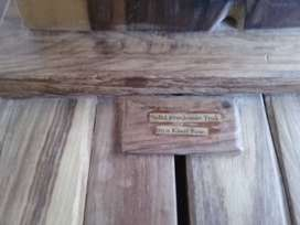 Solid exotic hardwood hand crafted clothing stands