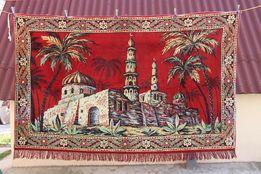 Ковер с мечетью шелковый