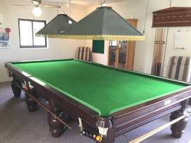 Pool and snooker table repairs and recovering
