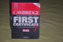 Książka angielski testy certyfikat P.Carne, Louise Hashemi B.Thomas