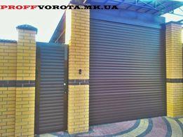 Роллетные(рулонные) ворота:въездные,гаражные-Николаев,Херсон,Одесса.
