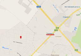Земельный участок 15 соток 2 км от Киева. Гатное