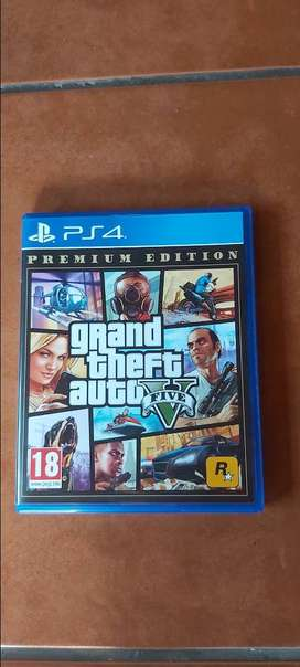 Ps4 game  Grand theft auto