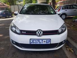 2012 VW Golf 6 1.4 Tsi with leather seats Automatic