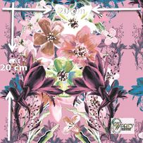 Materiał lub tapeta drukowane na zamówienie Kwiatowy bukiet pastelowy