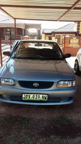 I m selling a Toyota tazz good condition. 2003 model