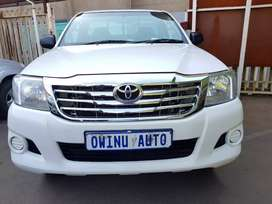 Used Toyota Hilux 3.0D4D manual L/B