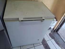 Deep freezer working condition and clean